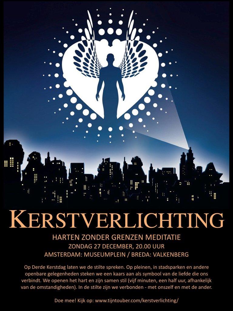 Kersverlichting Stiltemeditatie Den Haag