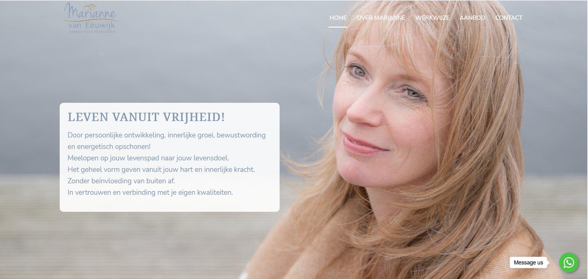 energetisch therapeut wordpress website